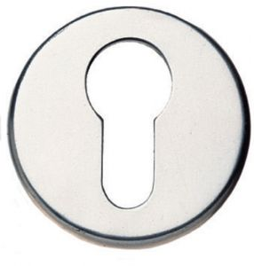 Polished Chrome Euro Profile Escutcheon Cover